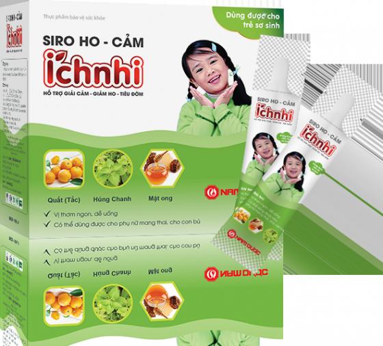 Siro Ho Cảm Ích Nhi (dạng gói)