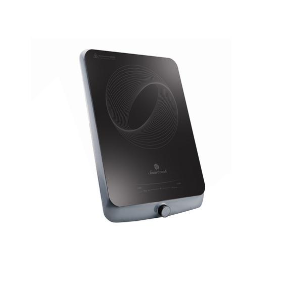 Combo Bếp điện từ Smartcook ICS-3875 (Có kèm nồi lẩu) + Bộ nồi Inox Smartcook 3 chiếc cỡ 16,20,24cm-SMR3