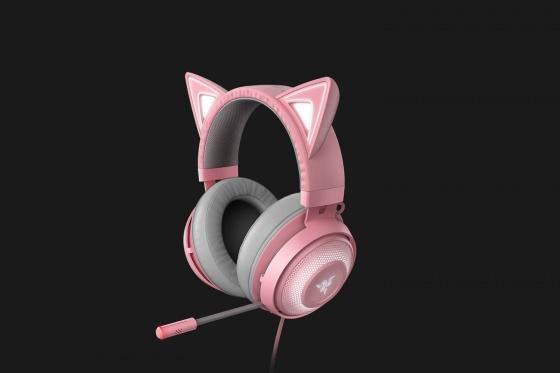 Tai nghe Razer Kraken Kitty-Chroma USB-Hồng(Quartz) RZ04-02980200-R3M1