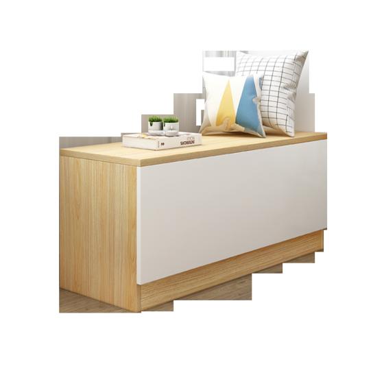 Tủ gỗ thấp kê cửa sổ, ban công, nhiều ngăn có cánh tiện lợi đa chức năng - gp131