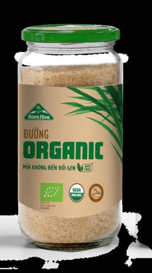 Đường Organic Biên Hòa hũ 800gr