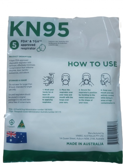 Combo 3 hộp Khẩu trang Vinrec KN95