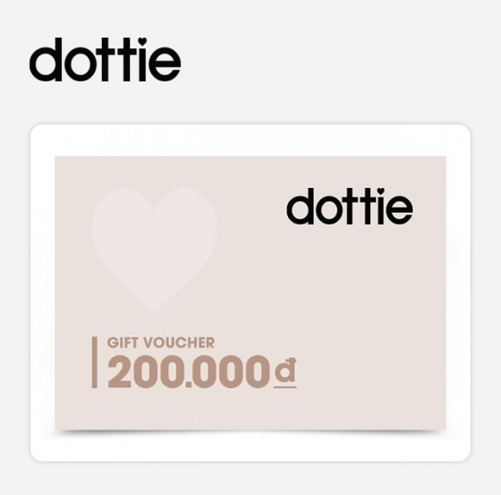 Phiếu quà tặng Dottie 200k