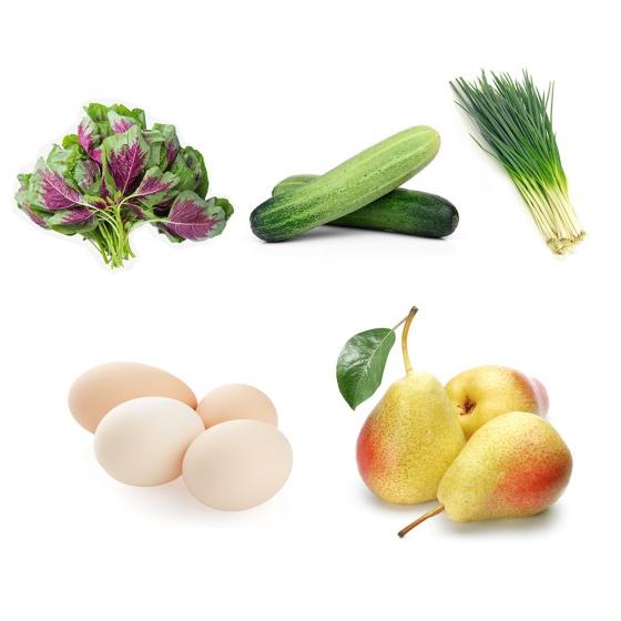 Combo Rau + Trái cây + Thực phẩm GSS02