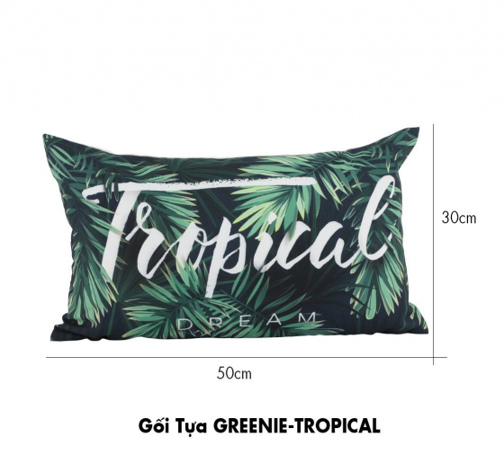 Gối tựa greenie tropical Index Living Mall