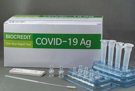 Bộ kít test nhanh Covid BioCredit 19AG
