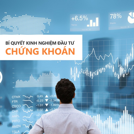 Khóa học về Bí quyết kinh nghiệm đầu tư chứng khoán