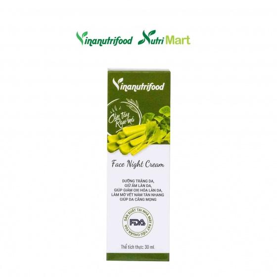 Kem Face Đêm Vinanutrifood, Giúp dưỡng ẩm, làm trắng da, dưỡng da hiệu quả vào ban đêm, ngăn ngừa sự lão hóa