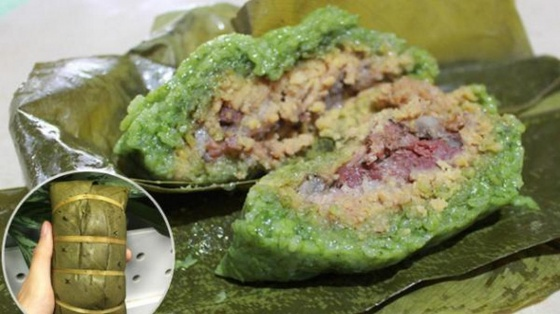 Bánh chưng gù Bà Dung