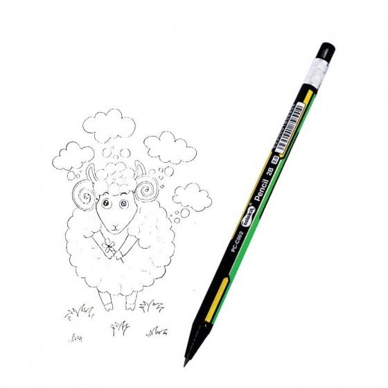 Bộ vẽ tranh bằng bút sáp màu Colokit - 5 Món