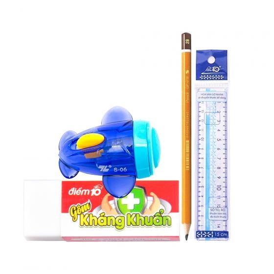 Bộ Vitamin xanh dương giúp bé học nhanh hơn 3 - 11 món