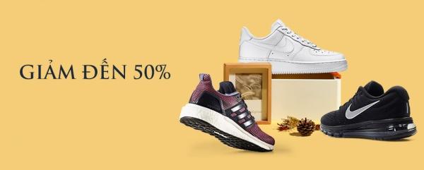 Giày thể thao chính hãng - Giảm đến 50%.