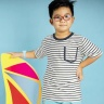 Áo thun bé trai sọc ngang - UKID110