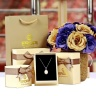 Dây chuyền bạc Aliyah Love - Eropi Jewelry