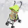 Xe đẩy trẻ em Malus màu xanh