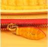 Túi xách nữ da cá sấu Huy Hoàng đeo chéo màu vàng nghệ HV6262