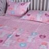 Chăn lẻ mèo hồng 150x200 - BDL0881.5