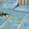 Chăn lẻ mèo xanh 110x130 - BDL0871.1