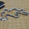 Dây chuyền bạc nam size 55cmx6mm