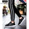 Giày sneaker nam thời trang Zapas GZ024BA (Đen trắng)