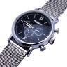 Đồng hồ nam Julius 3 máy JAH-090 JU1054 (bạc)