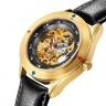 Đồng hồ Đức Kronen & Sohne cơ tự động da thật MW41