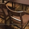 Bộ bàn ăn 4 ghế Cacao màu walnut - IBIE