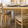 Bộ bàn ăn 4 ghế IBIE Ulsan màu tự nhiên