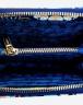 Ví kéo khóa màu xanh navy Venuco Madrid W12