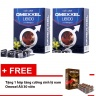 Combo 2 hộp viên uống tăng cường sinh lý & sức khỏe nam giới Omexxel Libido (60 viên) + Tặng 1 hộp tăng cường sinh lý nam Omexxel Ali (30 viên) - Chính hãng Mỹ