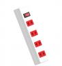 Ổ cắm Điện Quang ECO ĐQ ESK 5WR 42 ECO (4 lỗ 2 chấu, dây dài 5m, màu trắng đỏ)