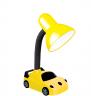Đèn bàn Điện Quang ĐQ DKL05 BW (kiểu xe hơi, vàng đen, bóng warmwhite)