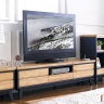 Tủ tivi Lantana gỗ cao su - Cozino