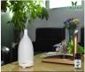 Combo máy khuếch tán tinh dầu gốm trắng FX2015 + sả chanh + cam Lorganic (10ml x2) LGN0164