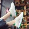Giày nữ thể thao giả da mềm tăng chiều cao