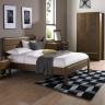 Tủ đầu giường 2 ngăn kéo Casa gỗ óc chó