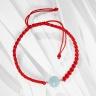Vòng tay thắt dây đỏ đá thiên nhiên mang đến sự tài lộc Ngọc Quý Gemstones