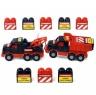 Bộ đồ chơi xe tải và xe kéo Mammoet kèm bộ lắp ráp 10 chi tiết Polesie Toys