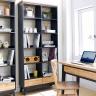 Tủ sách lớn Lantana gỗ tự nhiên - Cozino
