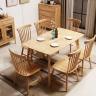Bộ bàn ăn 6 ghế Pinnstol Alpha - IBIE