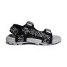 Giày sandal nam Teramo đen - TRM 46