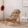 Ghế lười gỗ sồi - Cam