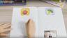 Combo sách tô màu 4D Ekidar chủ đề hoa quả 1,2