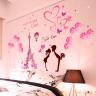 Combo trái tim hồng và tháp Paris tình yêu PK518