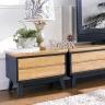 Tủ TV 5 ngăn kéo NB-Blue gỗ tự nhiên