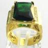Nhẫn nam thạch anh mạ vàng 18k - RM0963