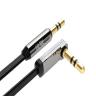 Cáp Audio 3,5mm dài 2M Ugreen 10599 bẻ góc 90 độ