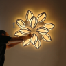 Đèn mâm ốp trần Led OP3M32 - đèn trang trí Homelight