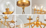Đèn thả trần hiện đại - đèn thả led chao thủy tinh - LADY009