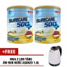 2 hộp Sữa Surecare 500 plus 3+ 900g(tặng bình dung)